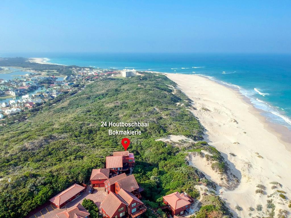 Jeffreys Bay Beach Accommodation Location